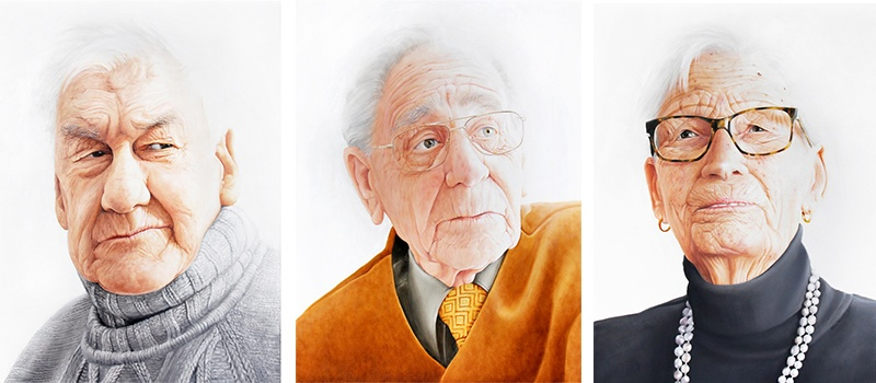 Adele Renault - Elderly 2, 4 and 3, 2013