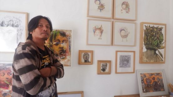 Adhik Kristiantoro - portrait - photo courtesy MayinArt