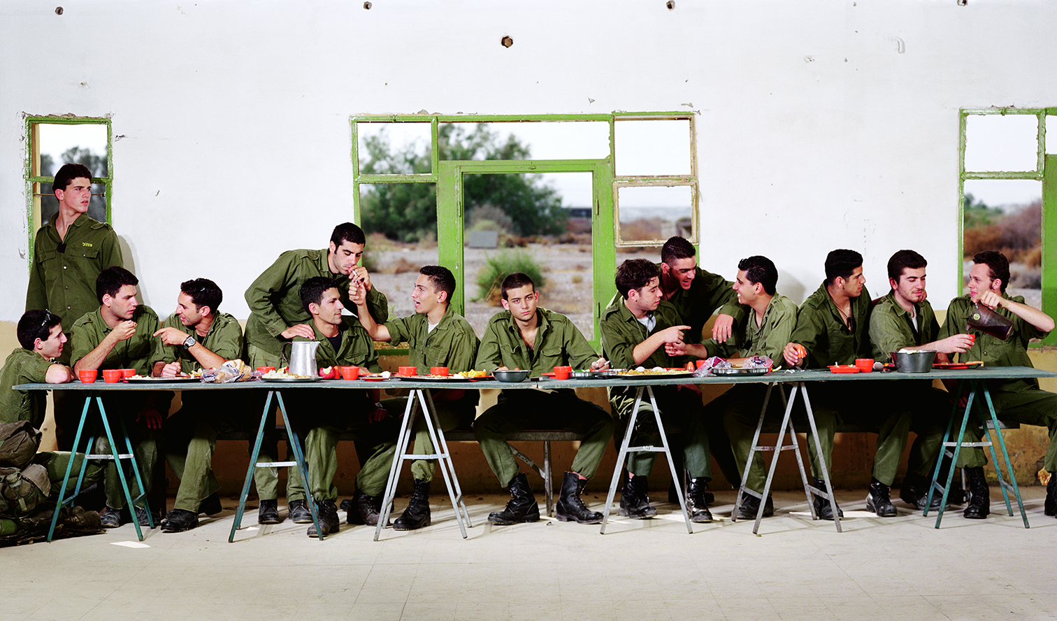 Adi Nes - Last Supper, 1996