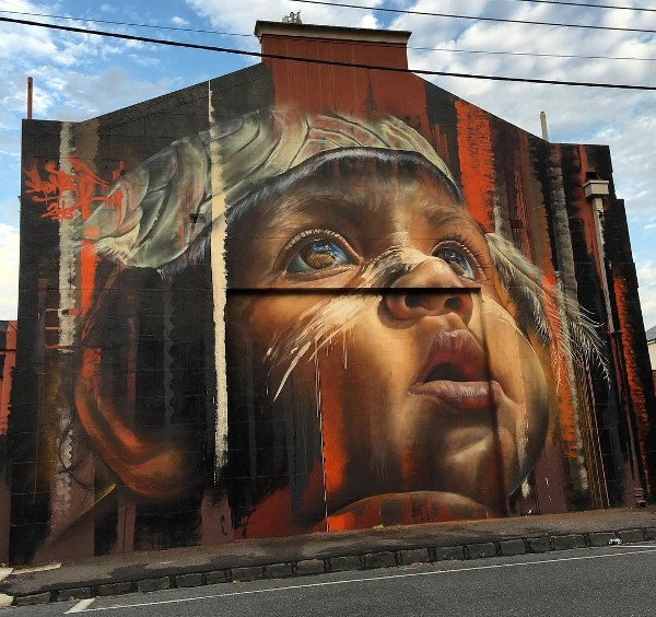 Adnate - Sydney Rd Festival 2016 - Melbourne, Australia - photo by Land of Sunshine