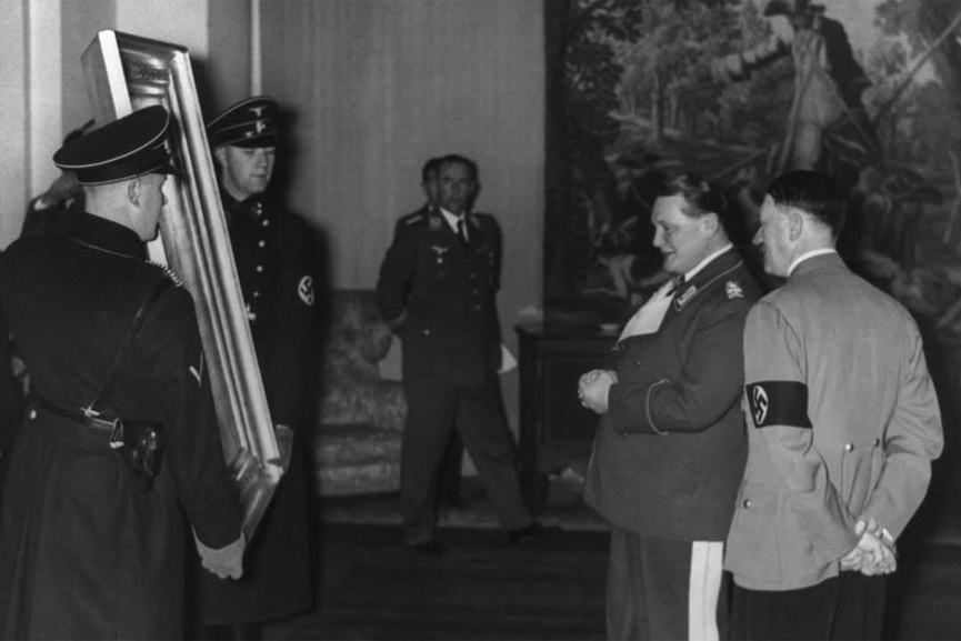 Goering catalogue nazi looted art
