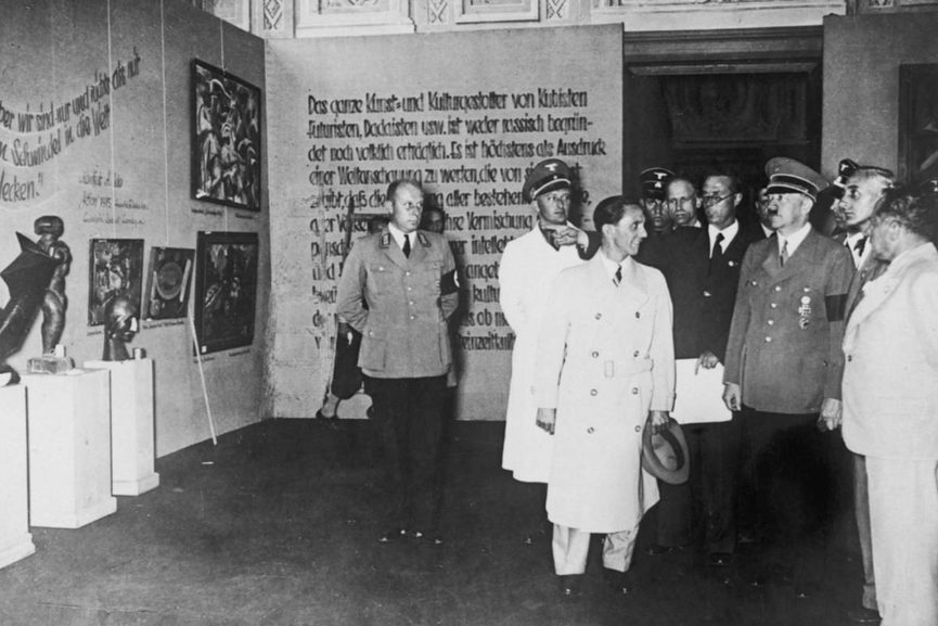 Adolf Hitler Opening Exhibition