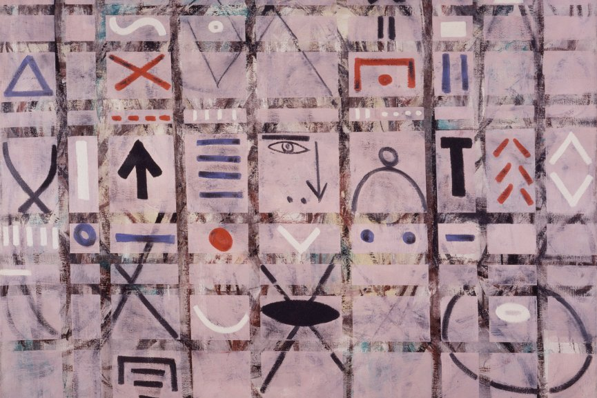 Adolph Gottlieb - Labyrinth 1, 1950