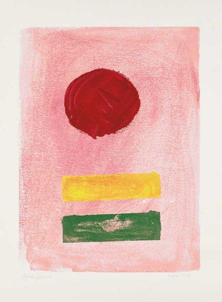 Adolph Gottlieb-Pink Ground-1972