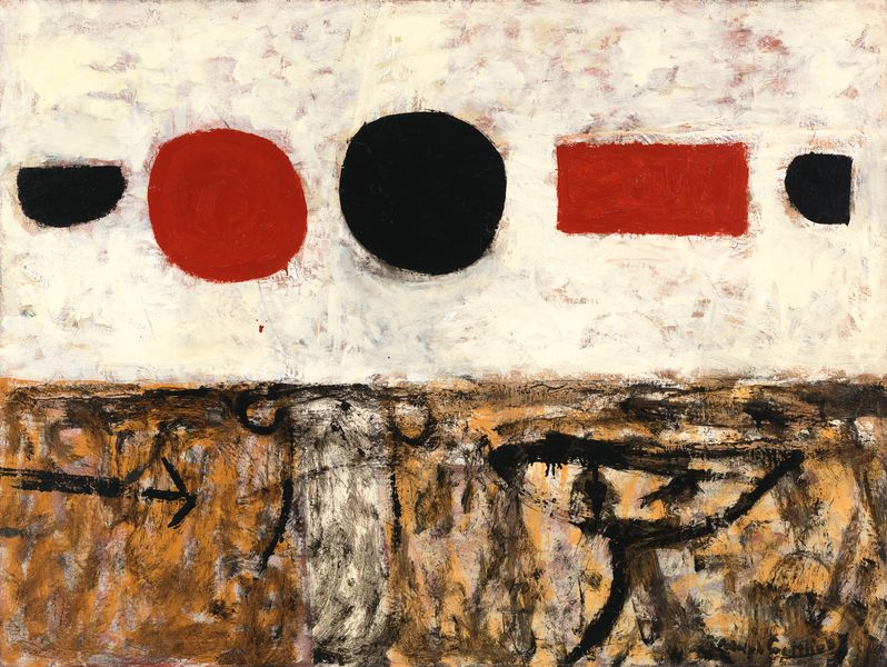Adolph Gottlieb - The Frozen Sounds, Number 1, 1951