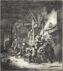 Adriaen van Ostade-The Family-1647