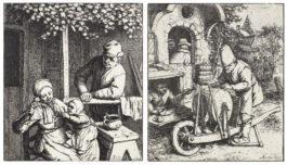 Adriaen van Ostade-The Knife Grinder (Godefroy 35), The Doll-1682