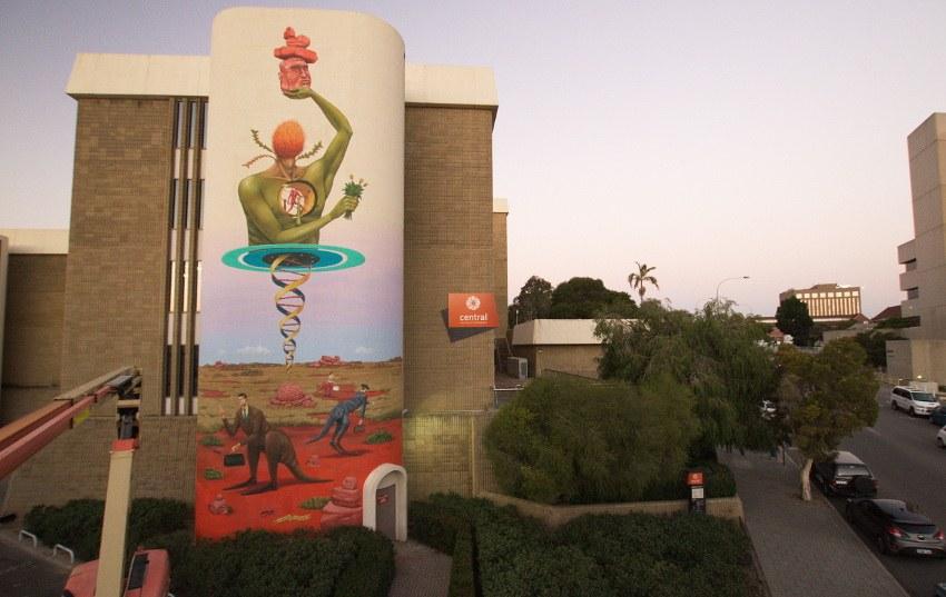Aec Interesni Kazki - Memory of the Land, Perth, Australia, 2015, photo credits of the artist