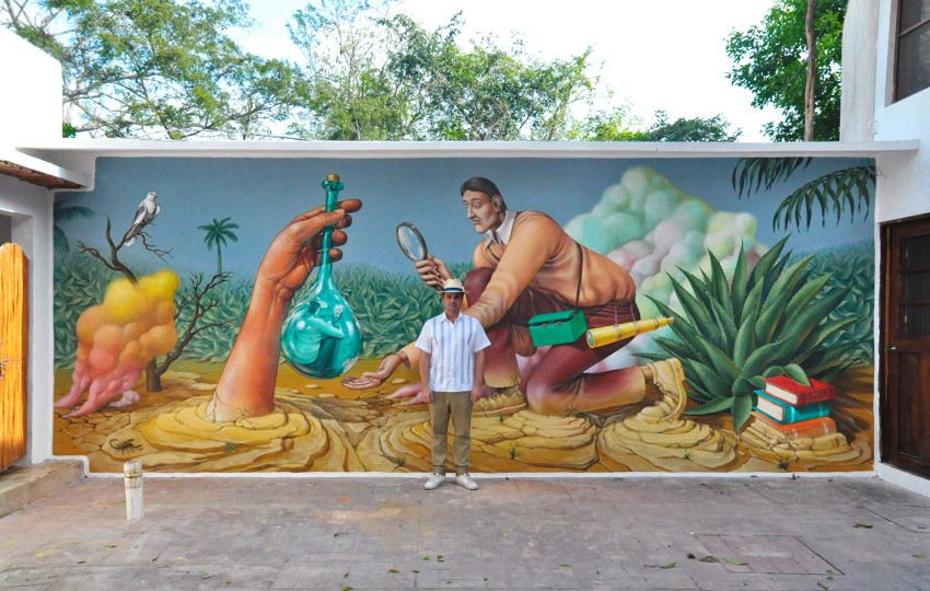 august local read place novemberstreet gallery india waone posts new mural festival post interview