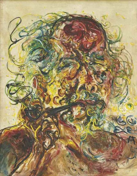 Affandi-Self Portrait-1976