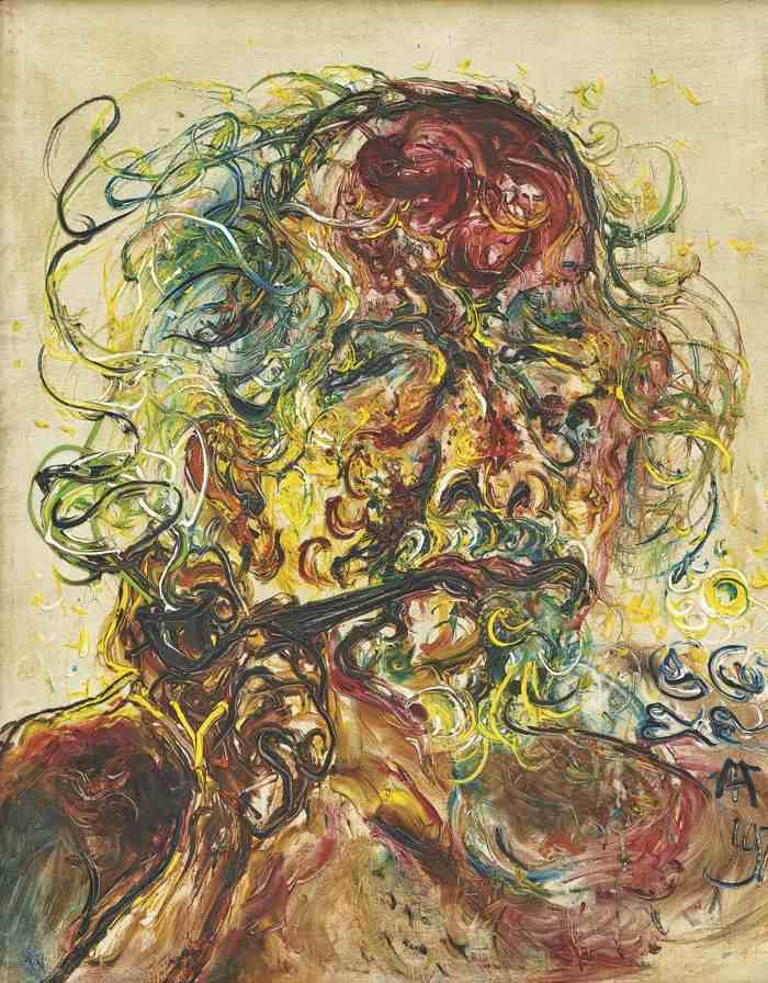 Affandi-Self Portrait-1976