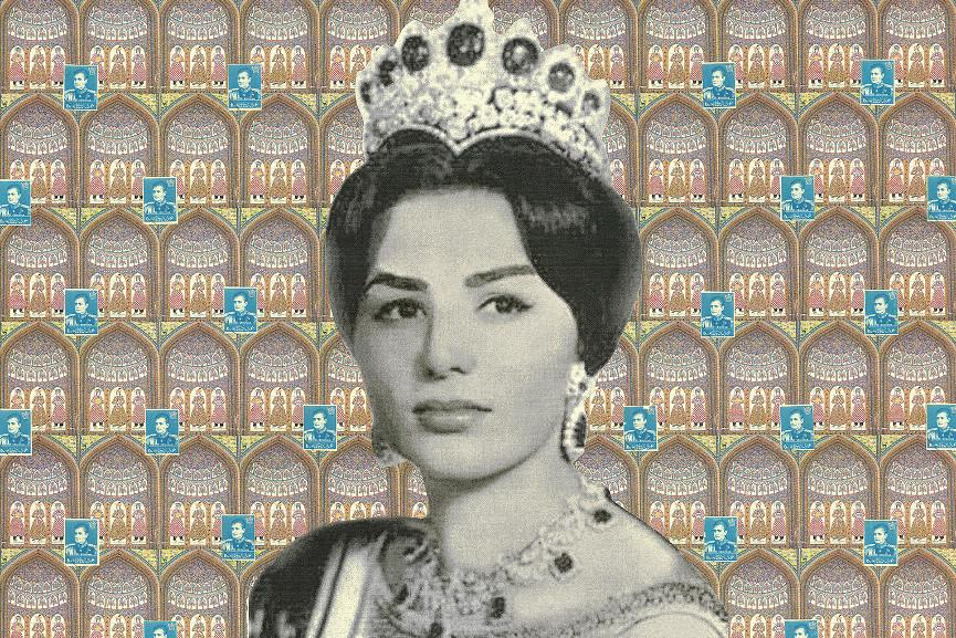 Afsoon - Shah and His Three Queens from the series Fairytale Icons, 2009