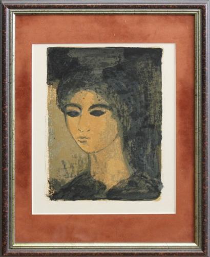 Alberto Giacometti-After Alberto Giacometti - Portrait de femme-