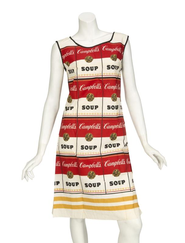 Andy Warhol-After Campbell's 'Souper Dress'-
