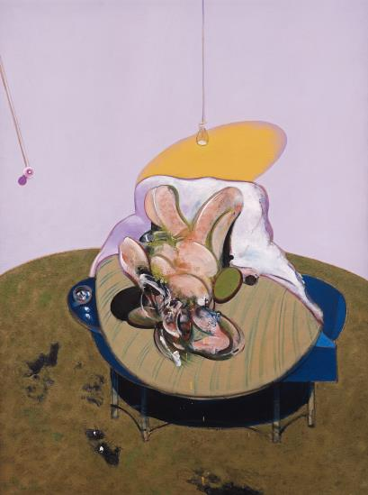 Francis Bacon-After Francis Bacon - Lying Figure-2015
