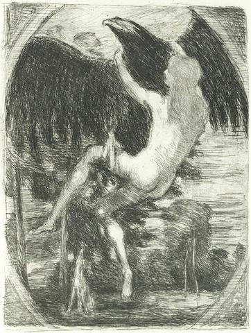Hans von Marees-After Hans von Marees - Dreissig Zeichnungen-