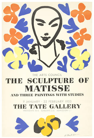 Henri Matisse-After Henri Matisse - The Sculpture of Matisse - The Tate Gallery-1953