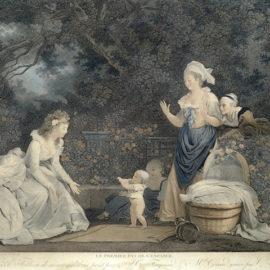 Jean-Honore Fragonard-After Jean-Honore Fragonard - Le Premier Pas De L'Enfance