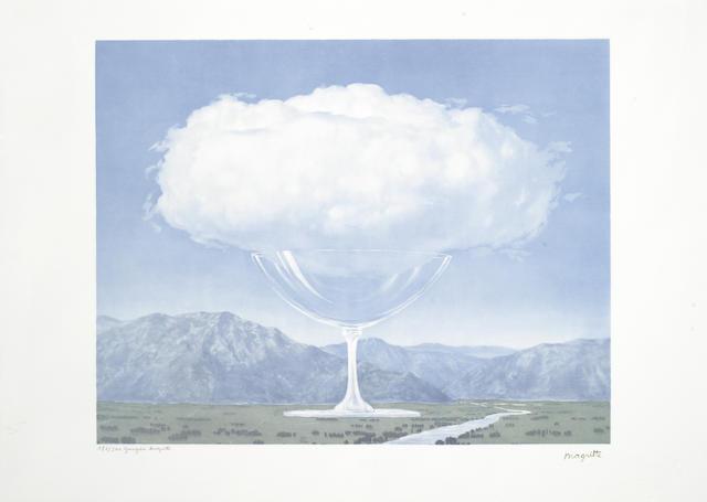 Rene Magritte-After Rene Magritte - Corde Sensible-