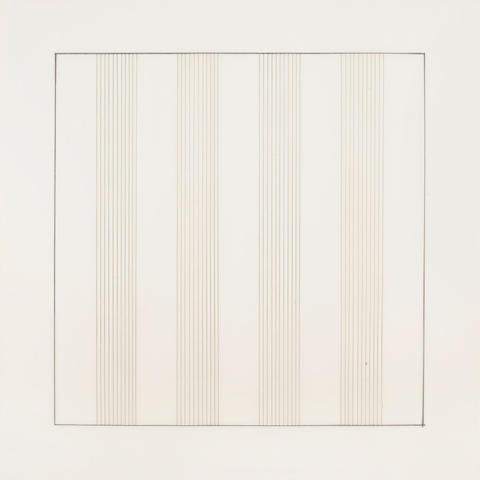 Agnes Martin-Paintings And Drawnings: Stedelijk Museum Portfolio-1991
