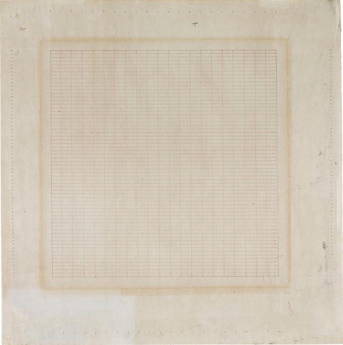 Agnes Martin-Untitled-1965