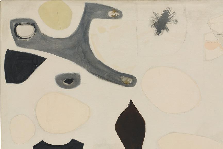 Agnes Martin exhibition LACMA