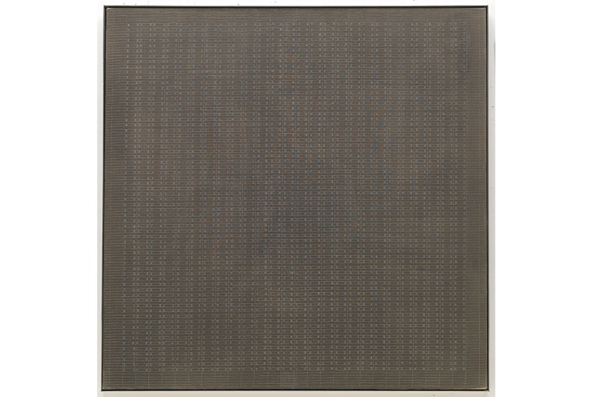 Agnes Martin paintings