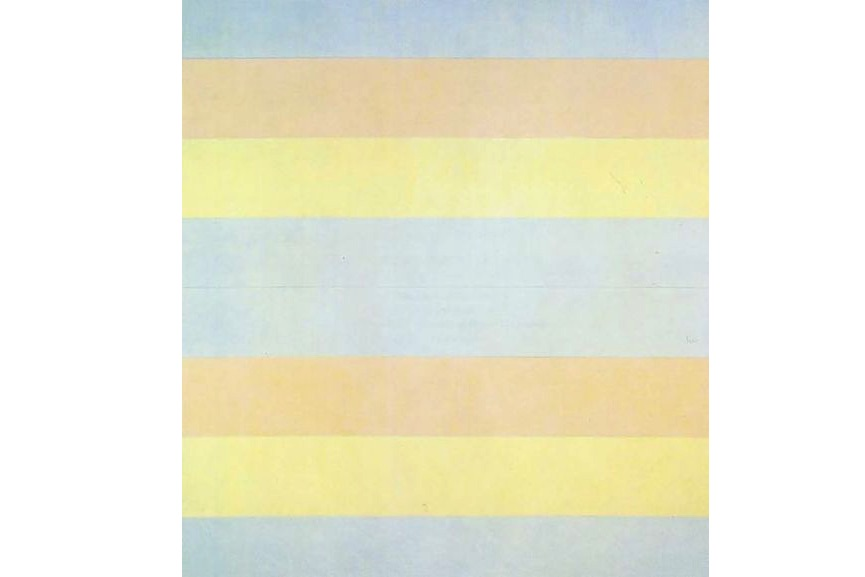 Agnes Martin - With My Back to the World, 1997