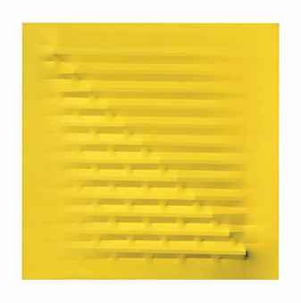 Agostino Bonalumi-Giallo (Yellow)-1978