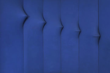 Agostino Bonalumi - blu abitabile (inhabitable blu), 1967