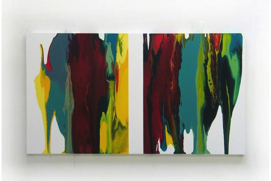Ahn Hyun-Ju - d0709-1, Dripping series, 2009