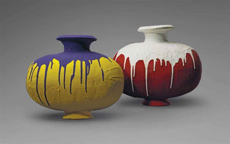 Ai Weiwei-Coloured Vases-2008