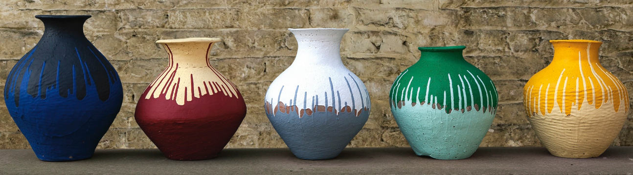 Ai Weiwei-Coloured Vases-2012