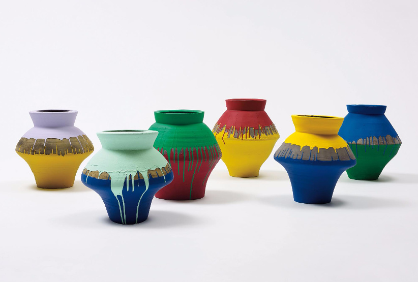 Ai Weiwei-Coloured Vases-2013
