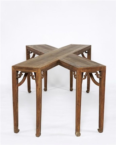 Ai Weiwei-Crossed Tables-1998