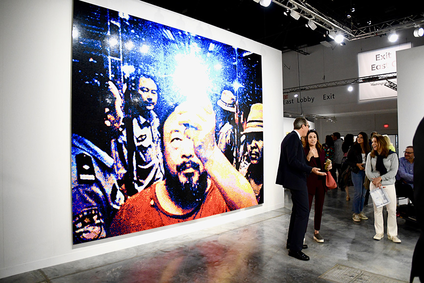 Ai Weiwei Illumination Art Basel Miami 2019