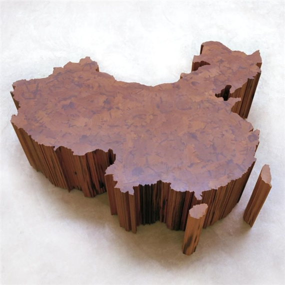 Ai Weiwei-Map of China-2004