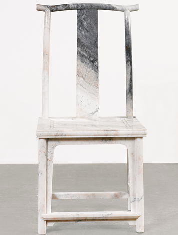 Ai Weiwei-Marble Chair (No. 5)-2008