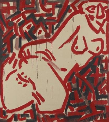 Ai Weiwei-Reclining Nude-1983
