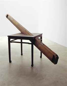 Ai Weiwei-Table and Beam-2002
