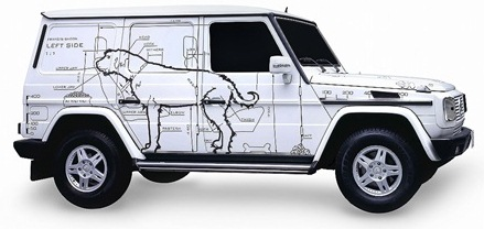 Ai Weiwei-The Dog Mobile: a Car for Francis Bacon-2010