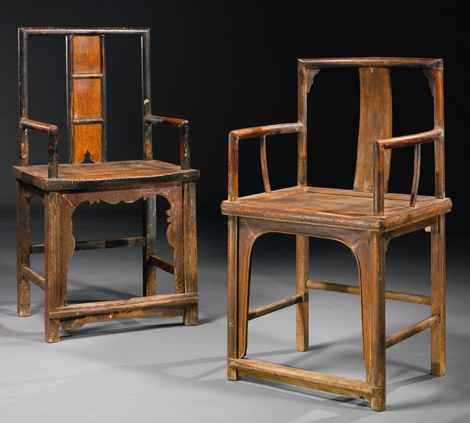 Ai Weiwei-Untitled (Pair of Chairs)-2007