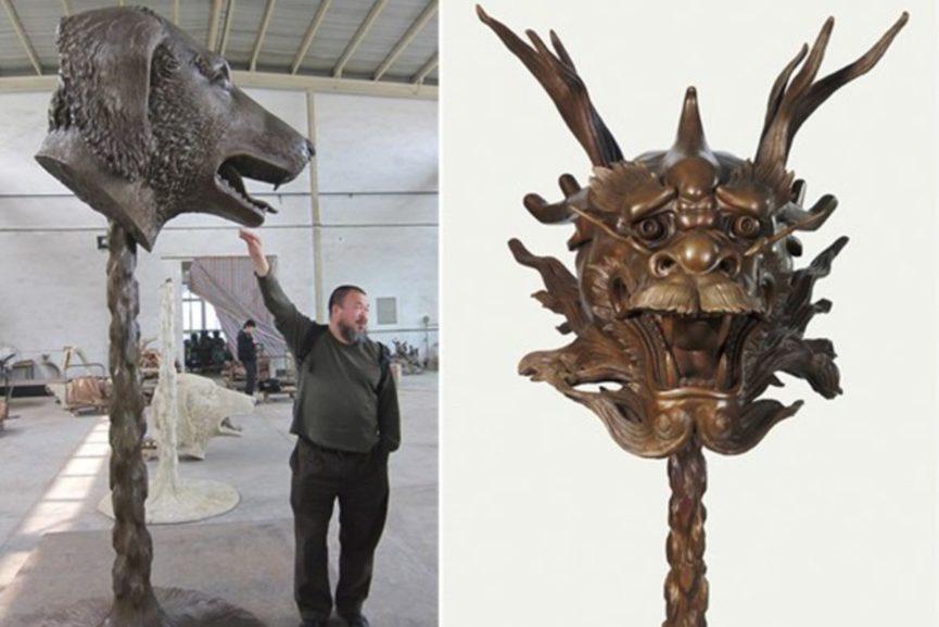 Ai Weiwei sculptures