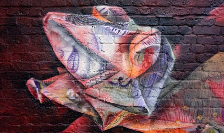 Airborne Mark - Money Chameleon, London, UK, 2017 - Image courtesy of the artist