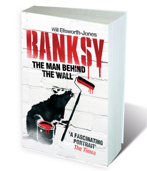 Airborne Mark was mentioned in a book Man behind the Wall, unauthorised biography of Banksy by Will Ellsworth-Jones