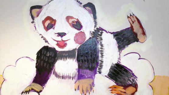 Airom - Pandas are the Future, GRRR, 2014 (detail)