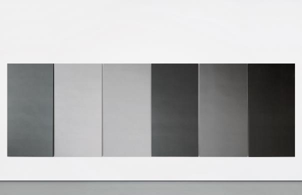Alan Charlton-Painting in Six Parts-1988