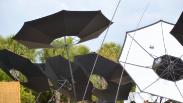 Albedo by Tomas Saraceno for Aerocene Installation View