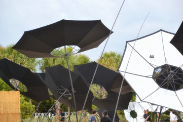 Albedo by Tomas Saraceno for Aerocene Presented in Miami