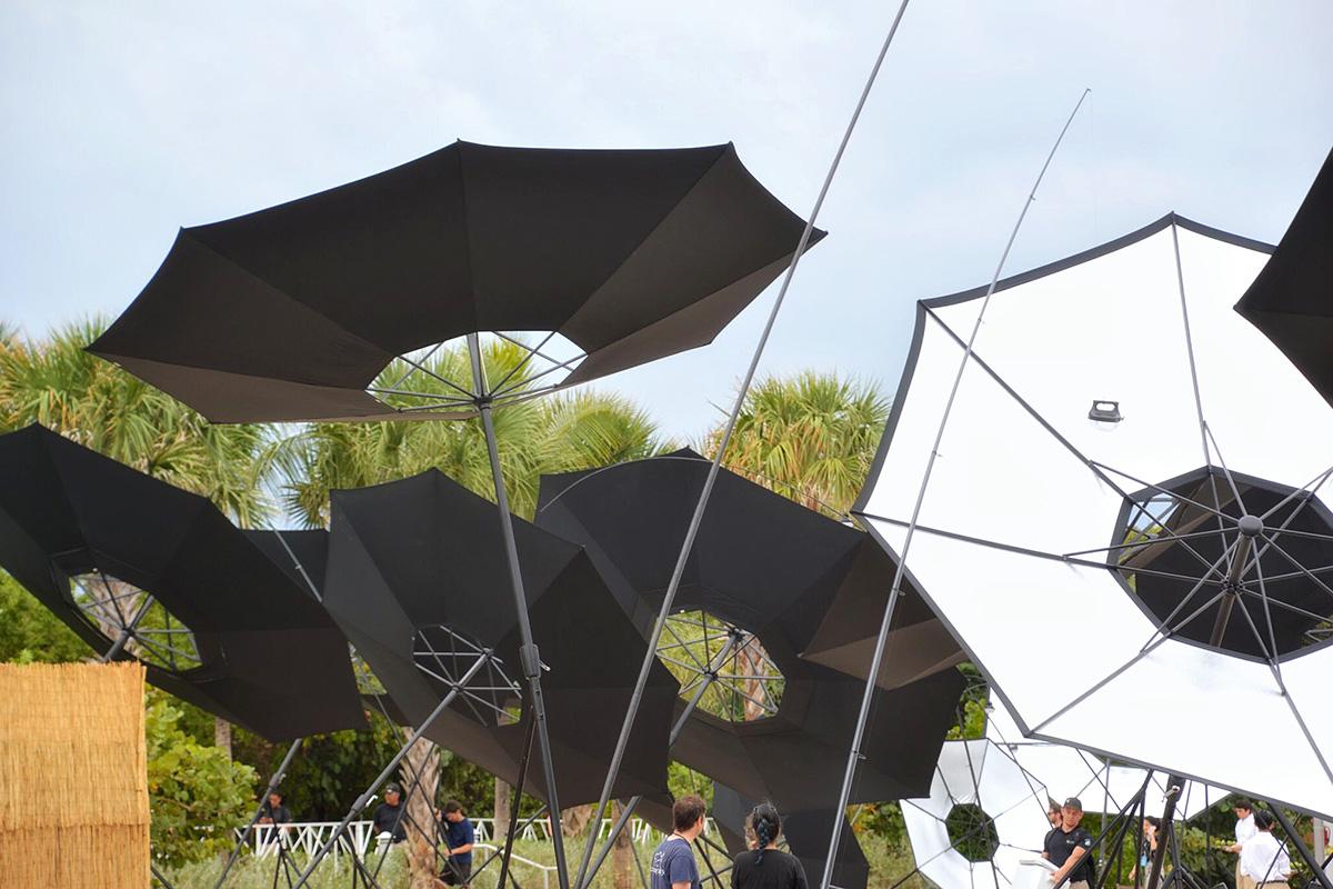 Albedo by Tomas Saraceno for Aerocene Installation View